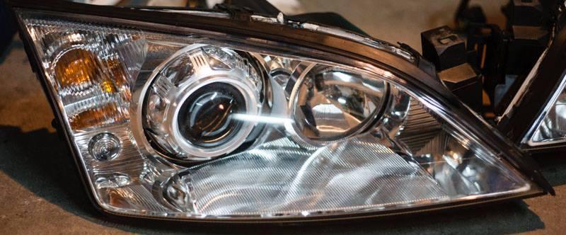 Ford Mondeo MK3 bi-xenon projector video
