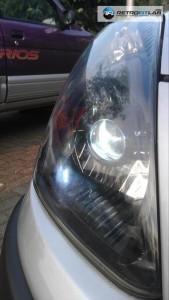Nissan Pixo Bi-Xenon projector retrofit