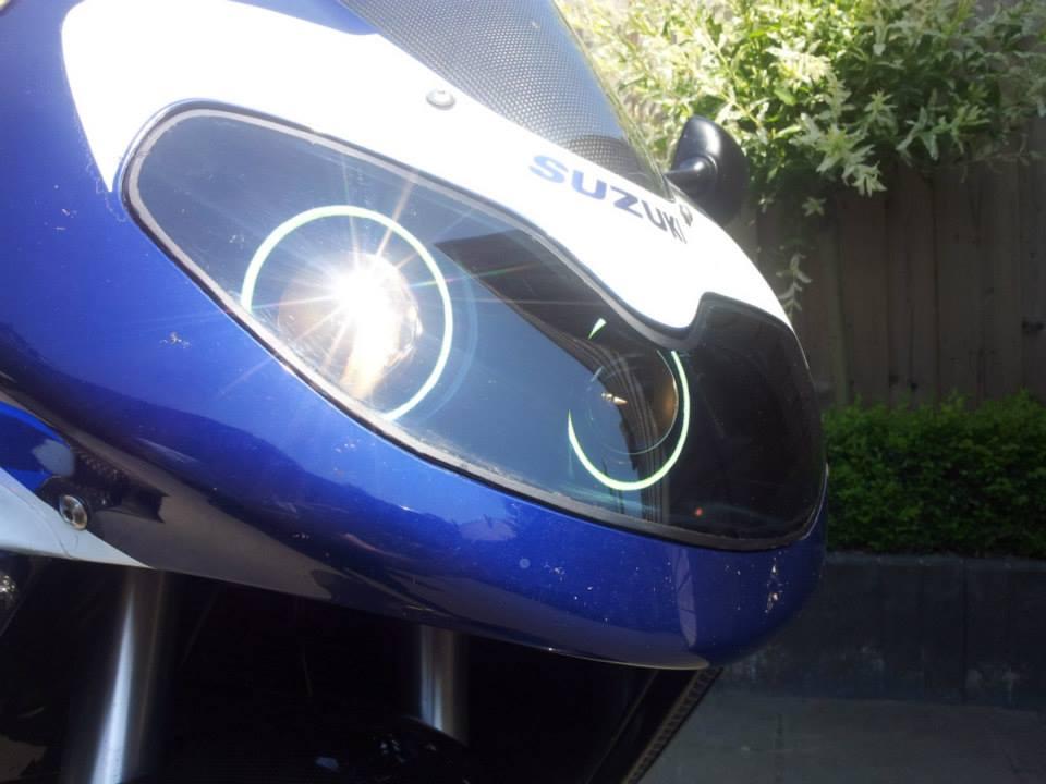 Suzuki TL1000 double bi-xenon hid projector