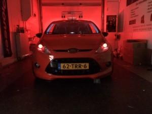 Ford Fiesta – Devil eyes mounted