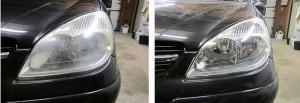 Polish headlights