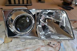 Audi A6 C5 Bi-xenon EvoX-R retrofit