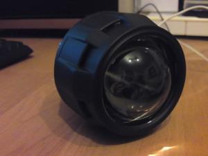 Daewoo Lanos bi-xenon projector retrofit