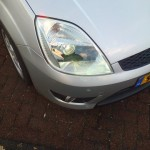 Fiat Fiesta MK6 Xenon mounted on car (2)