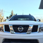 Nissan Navara D40 Xenon mounted on car