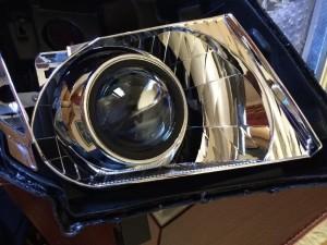 Nissan Navara D40 bi-xenon instuctions
