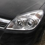 Opel Astra H Bi-Xenon mounted on car