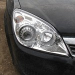 Opel Astra H Xenon mounted on car