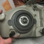 Opel Corsa B Headlight open