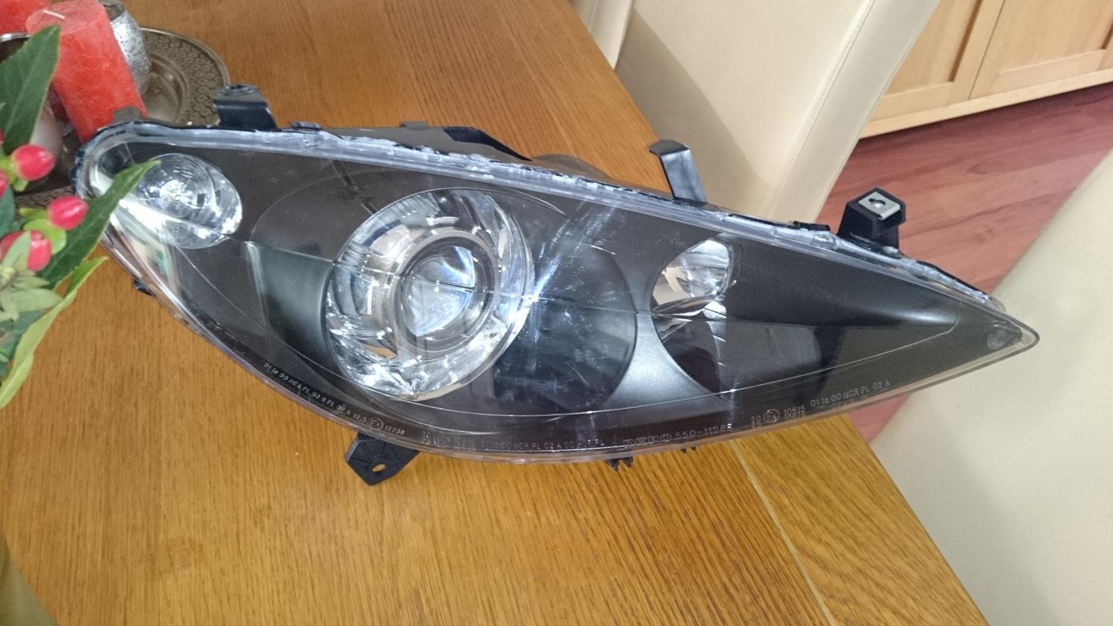 Peugeot 307 bi-xenon projector installation