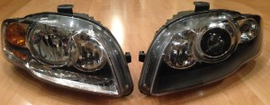 Audi A4 B7 Mini H1 projector retrofit