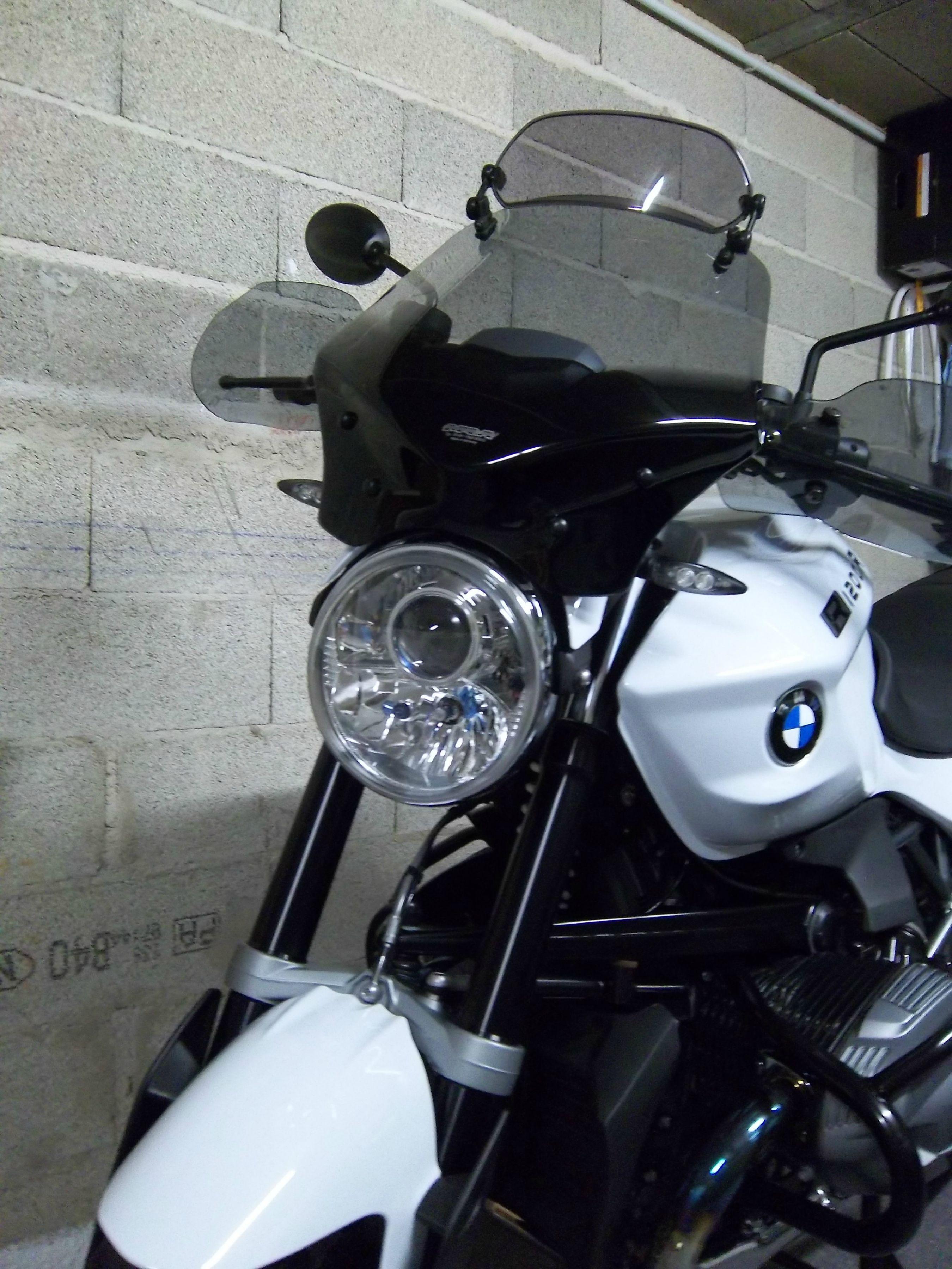 BMW R1200R bi-xenon projector full write-up