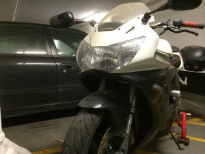 Honda CBR 929RR bi-xenon projector