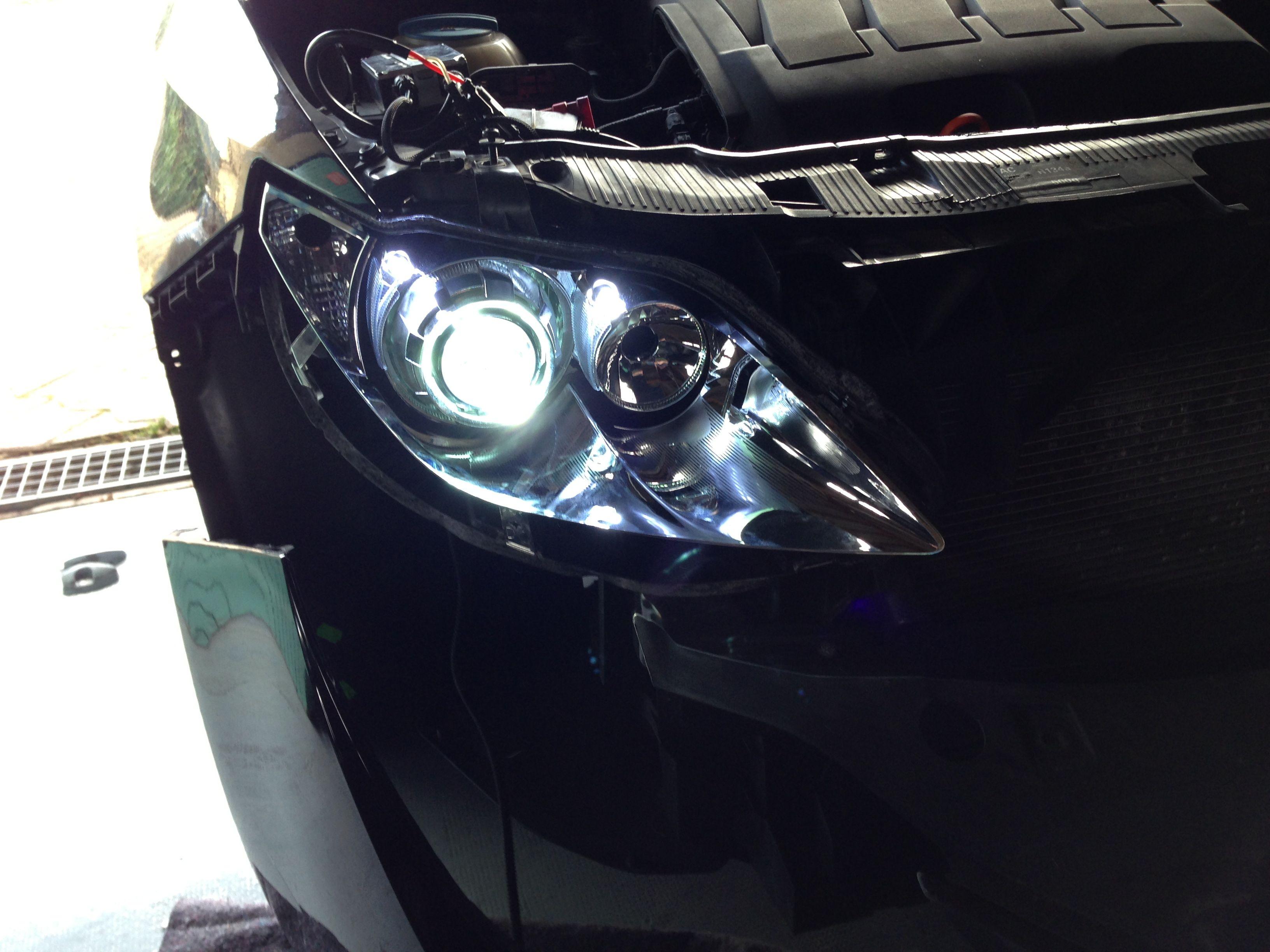 Seat Ibiza 6J Bi-xenon projector installation