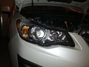 Subaru Impreza 2012 Bi-xenon projector