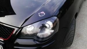VW Polo 9N bi-xenon projectors