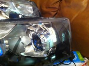 VW Transporter T5.2 bi-xenon projector