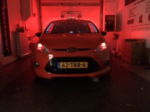 Ford Fiesta – Devil eyes mounted
