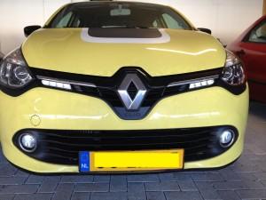 Renault Clio IV, 4, 2012+ Bi-xenon installation