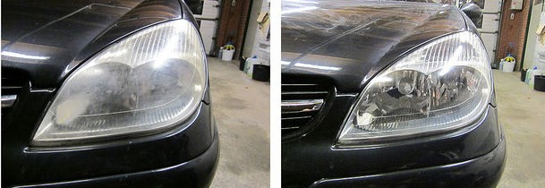 Polish headlights