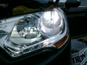 Citroen C4 headlight